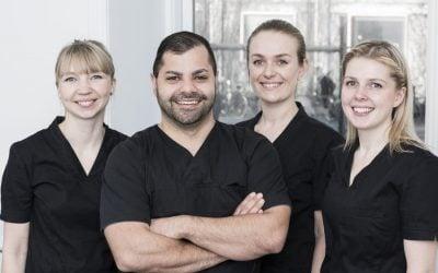 Denti byder Tandlægerne Tehrani Schmidt velkommen